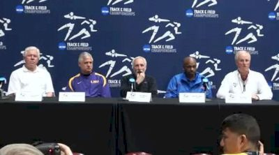 Coaches thoughts on getting NCAA Championships to public eye