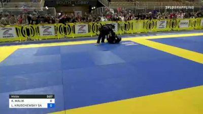 KAIDEN MALIK vs LUCA KRUSCHEWSKY SA BARROS 2021 Pan Kids Jiu-Jitsu IBJJF Championship