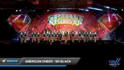 American Cheer - SR BLACK [2020 L3 Senior Coed Medium - A Day 2] 2020 Spirit Sports: Duel In The Desert