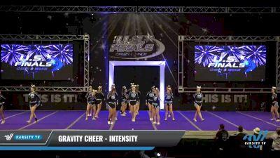 Gravity Cheer - Intensity [2021 L4 Senior Day 2] 2021 The U.S. Finals: Ocean City