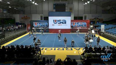 Clovis North High School - Clovis North [2021 Varsity Show Cheer Intermediate Day 1] 2021 USA Reach the Beach Spirit Competition