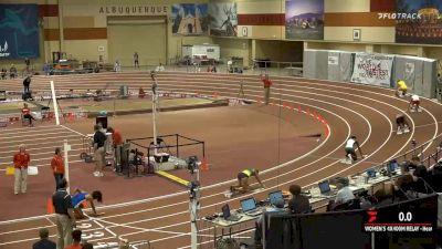 Women's 4x400m Relay, Heat 4