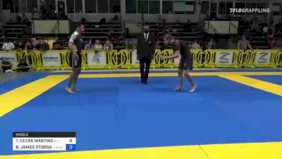 THYAGO CEZAR MARTINS vs BRADY JAMES STODDARD 2021 Pan IBJJF Jiu-Jitsu No-Gi Championship