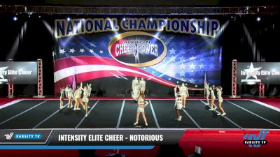 Intensity Elite Cheer - Notorious [2021 L3 Junior - D2 Day 2] 2021 ACP: Midwest World Bid National Championship