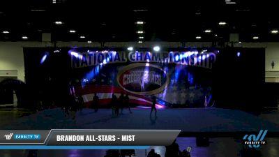 Brandon All-Stars - Mist [2021 L4.2 Senior Day 1] 2021 ACP: Tournament of Champions