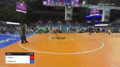 285 lbs Quarterfinal - Keith Miley, Missouri vs Ryan Boersma, Illinois