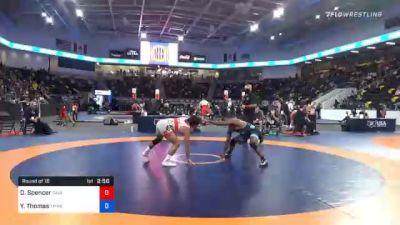 70 kg Prelims - Denton Spencer, Cavalier Wrestling Club vs Yahya Thomas, TMWC/ Wildcat Wrestling Club