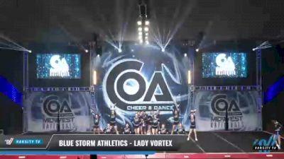 Blue Storm Athletics - LADY VORTEX [2021 L3 Senior - D2 - Small Day 2] 2021 COA: Midwest National Championship