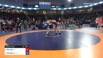 79 kg Quarterfinal - Isaiah Martinez, TMWC/ BEAVER DAM RTC vs Travis Wittlake Jr., TMWC/ Cowboy RTC