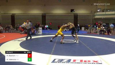 Prelims - Anthony Valencia, Arizona State vs Kimball Bastian, Utah Valley