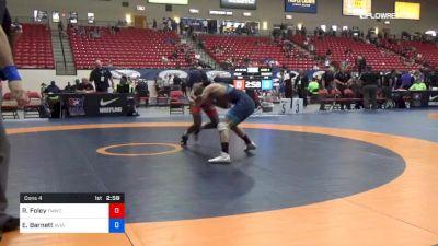 57 kg Cons 4 - RayVon Foley, TMWC vs Eric Barnett, Aviators
