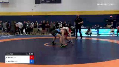57 kg Quarterfinal - Austin Miller, New England Regional Training Center vs Jack Mueller, New York City RTC