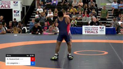 55kg Semi - Sam Hazewinkel, Sunkist Kids vs Britain Longmire, Team Nevada
