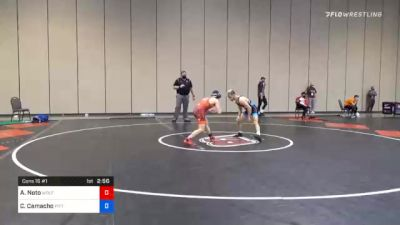57 kg Consolation - Anthony Noto, Wolfpack Wrestling Club vs Colton Camacho, Pittsburgh Wrestling Club