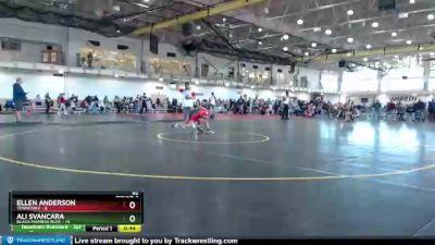 82 lbs Round 2 (4 Team) - Ellen Anderson, Tennessee vs Ali Svancara, Black Mambas Blue
