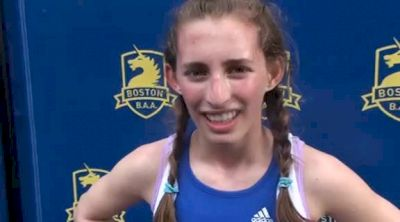 Sonya Jampel 1st 2011 Boston Marathon Middle School 1k