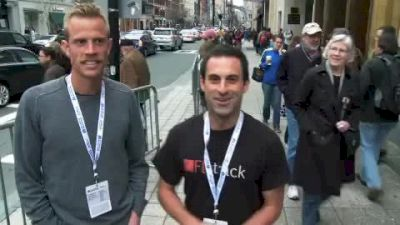 2011 Boston Marathon Predictions from the Expo with Flotrack