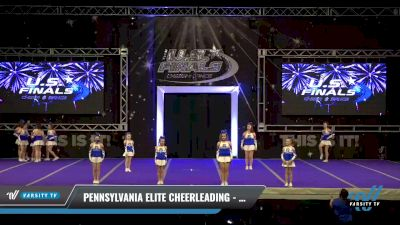Pennsylvania Elite Cheerleading - Young Justice [2021 L2 Youth- D2 - A Day 2] 2021 The U.S. Finals: Ocean City