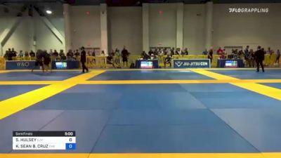 SAMUEL HULSEY vs KALVIN SEAN B. CRUZ 2021 American National IBJJF Jiu-Jitsu Championship