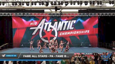 FAME All Stars - PA - Fame BlacXout [2020 L4 Senior Open Day 2] 2020 Mid-Atlantic Championships