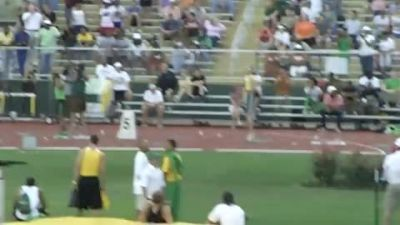 Jeremy Wariner Wins Close Race With Renny Quow 45.61 at Baylor 2011
