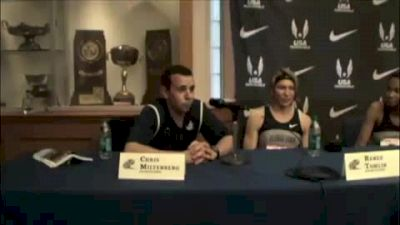 Georgetown Women Penn Relays 2011 Champ Of America DMR Press Conference