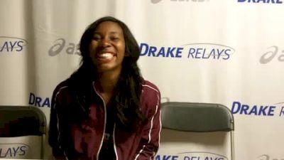 Gwen Berry 1st HT 2011 Drake Relays