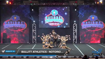 Bullitt Athletics - NOTORIOUS [2019 Senior Coed Open - Small 6 Day 1] 2019 America's Best National Championship