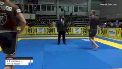 J Breylor Grout vs Walker Cole Madden 2021 Pan IBJJF Jiu-Jitsu No-Gi Championship
