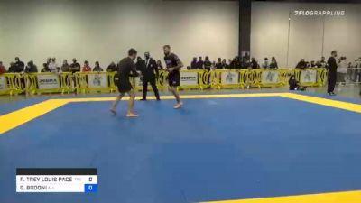 RONNIE TREY LOUIS PACE III vs GIANCARLO BODONI 2020 IBJJF Pan No-Gi Championship
