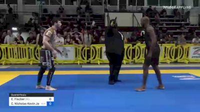 Emil Fischer vs Carlitos Nicholas Kevin Jon... 2021 Pan IBJJF Jiu-Jitsu No-Gi Championship