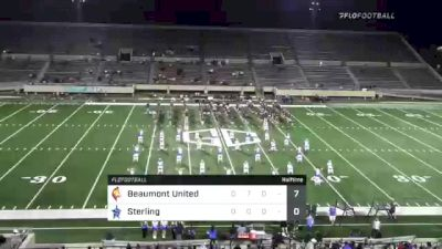 Replay: Beaumont United HS vs Sterling HS - 2021 Beaumont United vs Sterling | Sep 23 @ 7 PM