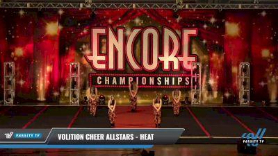 Volition Cheer Allstars - Heat [2021 Junior - Hip Hop Day 2] 2021 Encore Championships: Pittsburgh Area DI & DII