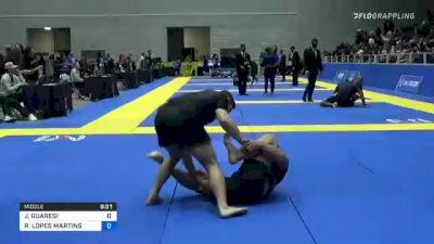JEFERSON GUARESI vs RODRIGO LOPES MARTINS 2021 World IBJJF Jiu-Jitsu No-Gi Championship