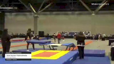 Tova Vayner-Vishnubhotla - Double Mini Trampoline, Gymnast Factory - 2021 USA Gymnastics Championships