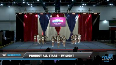 Prodigy All Stars - Twilight [2021 L5 Senior Coed Day 2] 2021 The American Spectacular DI & DII