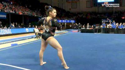 Isabella Amado - Floor, Boise St. - 2019 NCAA Gymnastics Regional Championships - Oregon State