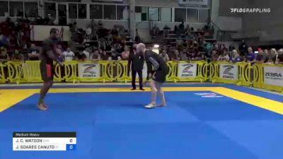 JOSEPH C. WATSON vs JAIME SOARES CANUTO 2021 Pan IBJJF Jiu-Jitsu No-Gi Championship