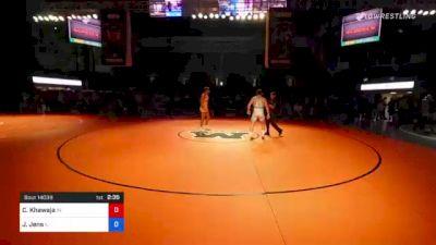 170 lbs 5th Place - Codei Khawaja, Indiana vs Joseph Jens, Illinois