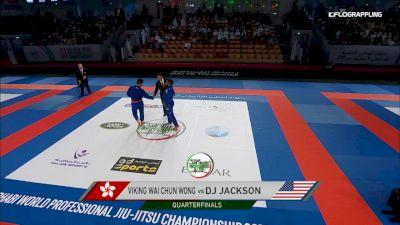 Viking Wai Chun Wong vs Dj Jackson Abu Dhabi World Professional Jiu-Jitsu Championship