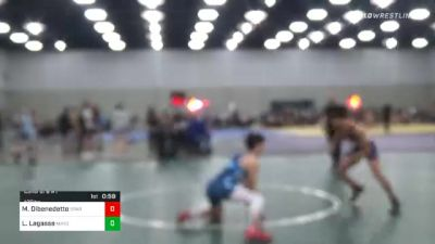 125 lbs Consolation - Michael Dibenedetto, Spar Wrestling Academy vs Luke Lagasse, Mayo Quanchi Judo And Wrestling Club