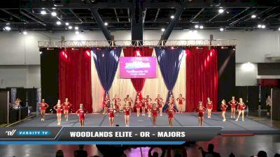 Woodlands Elite - OR - Majors [2021 L4 Junior - Medium Day 1] 2021 The American Spectacular DI & DII