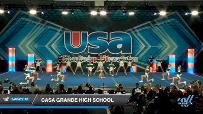 Casa Grande High School [2020 Medium Varsity Show Cheer Novice (13-16) Day 1] 2020 USA Spirit Nationals