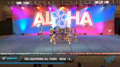 The California All Stars - Mesa - Vixens [2021 L6 Senior - XSmall Day 2] 2021 Aloha DI & DII Championships