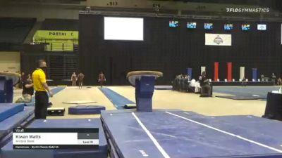 Kiwan Watts - Vault, Arizona State - 2021 Men's Collegiate GymACT Championships