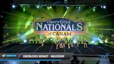 Cheerletics Royalty - MALEFICENT [2021 L2 Mini Day 2] 2021 Cheer Ltd Nationals at CANAM