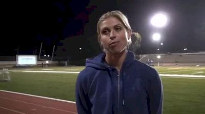 Maggie Vessey 1:59 2nd 800 USATF Oxy High Performance Meet 2011