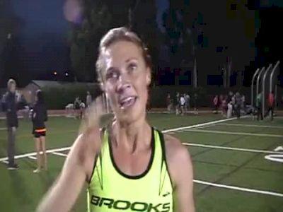 Katie Follett 4:07 1st 1500 USATF Oxy High Performance Meet 2011