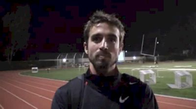 Will Leer after the 3:37 1500 at the USATF Oxy High Performance 2011