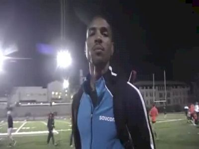 Duane Solomon 1:45 5th 800 USATF High Performance Meet 2011